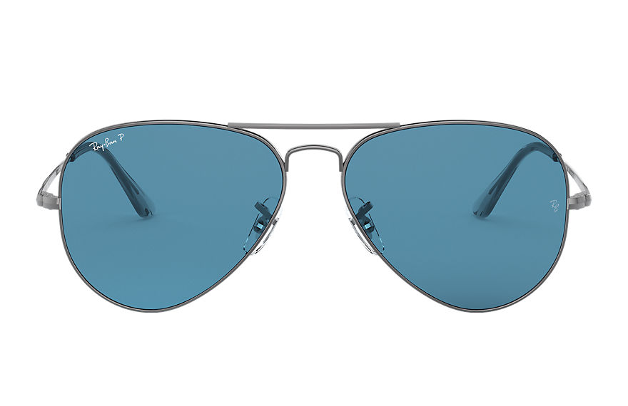 Ray-Ban  sunglasses RB3689 UNISEX 001 rb3689 metaliczny 8056597260602