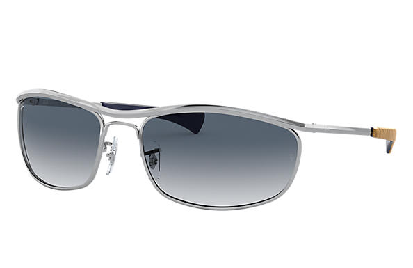 Ray-Ban 0RB3119M-OLYMPIAN I DELUXE Shiny Silver,Silver SUN