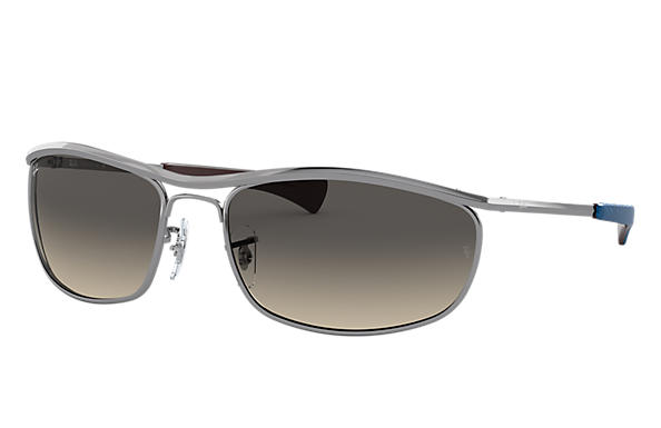Ray-Ban 0RB3119M-OLYMPIAN I DELUXE Staalgrijs SUN
