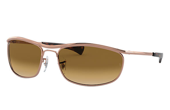 Ray-Ban 0RB3119M-OLYMPIAN I DELUXE Shiny Rose Gold SUN