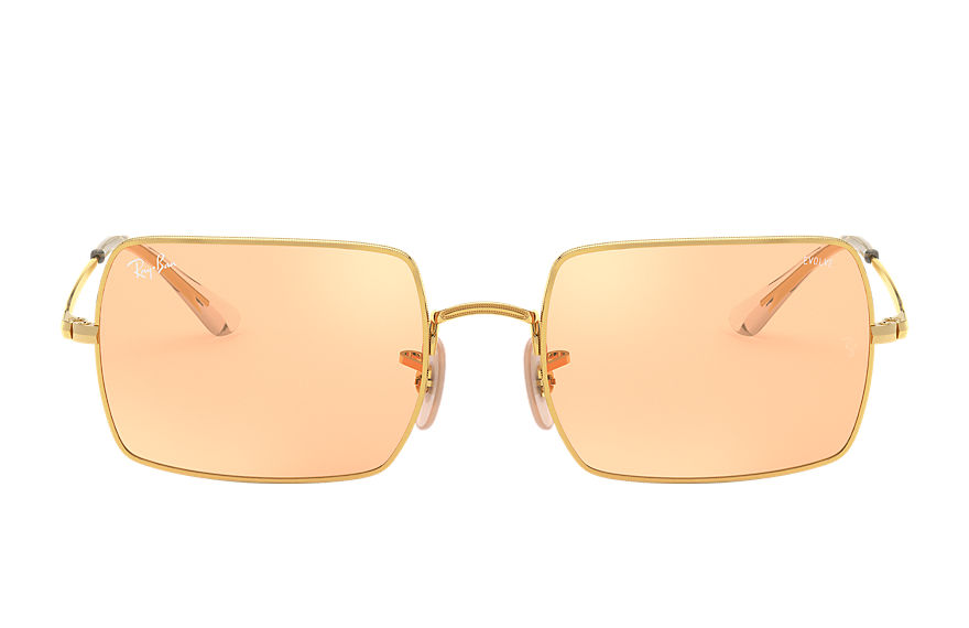 Ray-Ban  sunglasses RB1969 UNISEX 001 rectangle 1969 mirror evolve blank guld 8056597260800