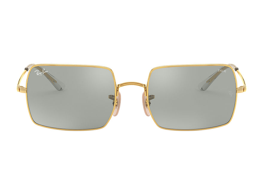 Ray-Ban  sunglasses RB1969 UNISEX 001 rectangle 1969 mirror evolve blank guld 8056597260817