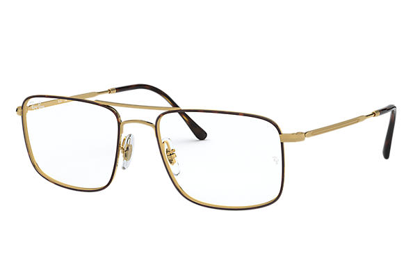Ray-Ban 0RX6434-RB6434 Havana,Gold OPTICAL