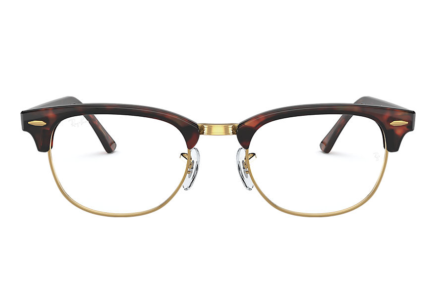 Ray-Ban  eyeglasses RX5154 UNISEX 001 clubmaster optics mock tortoise 8056597261647