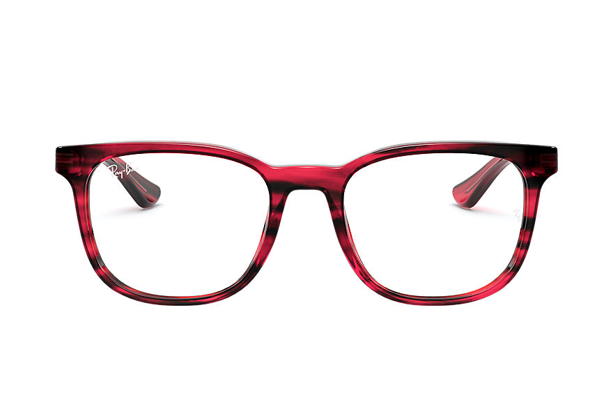 Ray-Ban Graduados RB5369 Striped Red