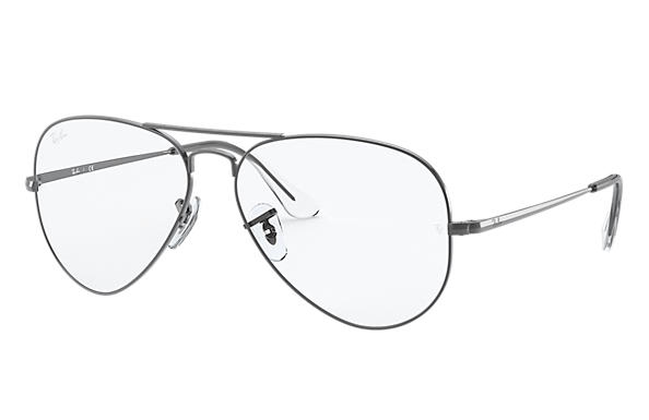 Ray-Ban Eyeglasses AVIATOR OPTICS Gunmetal