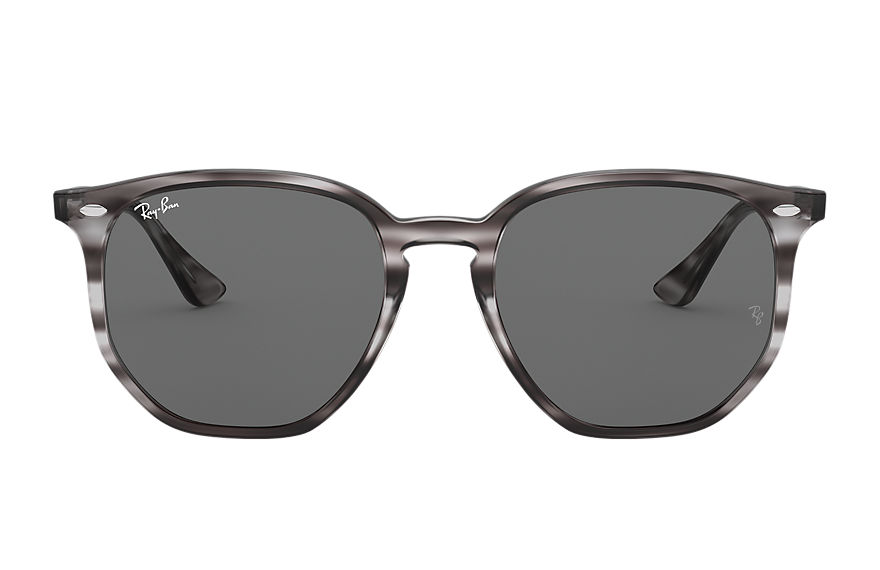 Ray-Ban  sunglasses RB4306F UNISEX 001 rb4306f striped grey havana 8056597265553