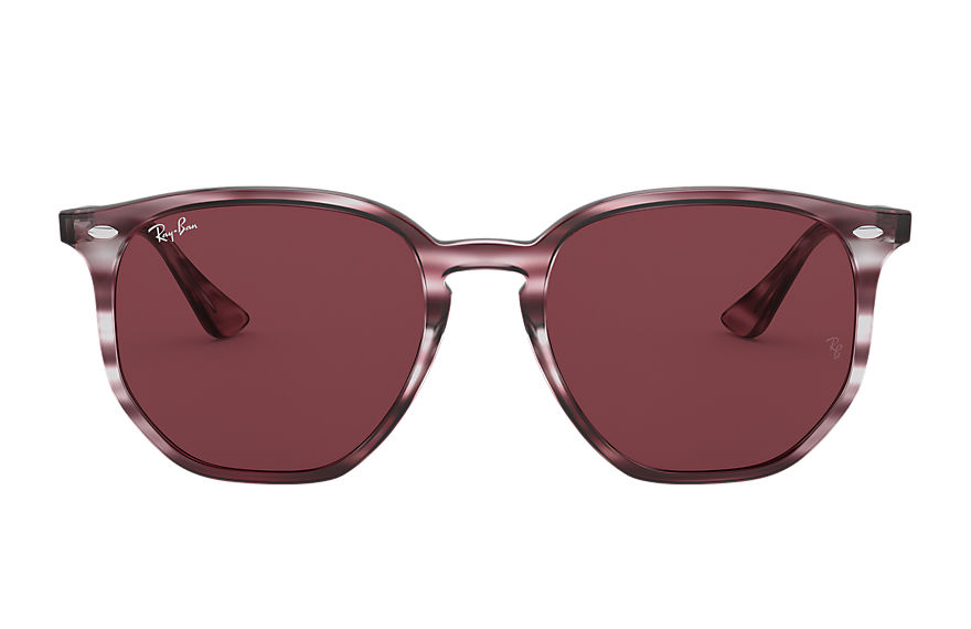 Ray-Ban  sunglasses RB4306F UNISEX 001 rb4306f striped bordeaux havana 8056597265560