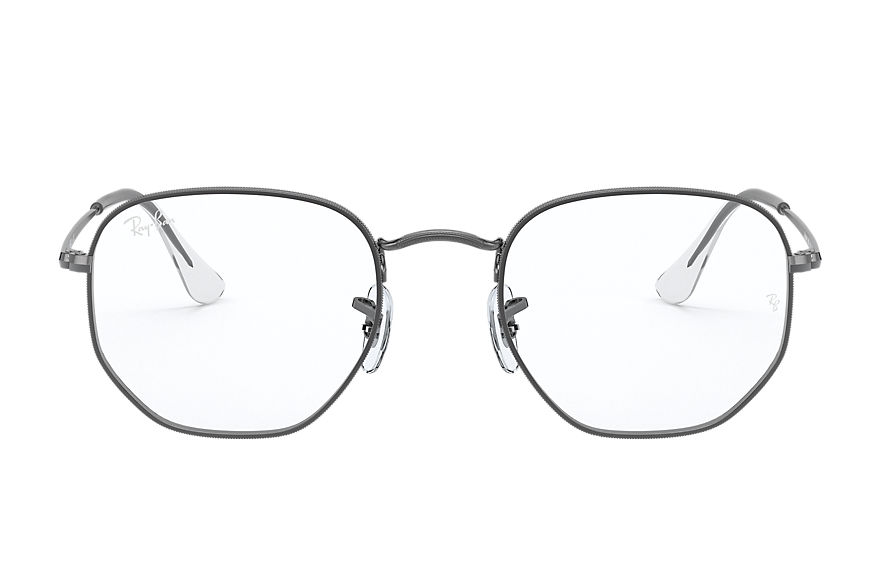 Ray-Ban  eyeglasses RX6448 UNISEX 001 hexagonal optics gunmetal 8056597266598