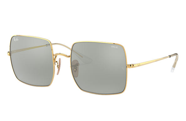 Ray-Ban 0RB1971-SQUARE 1971 MIRROR EVOLVE Glanzend goud,Goud; Goud SUN