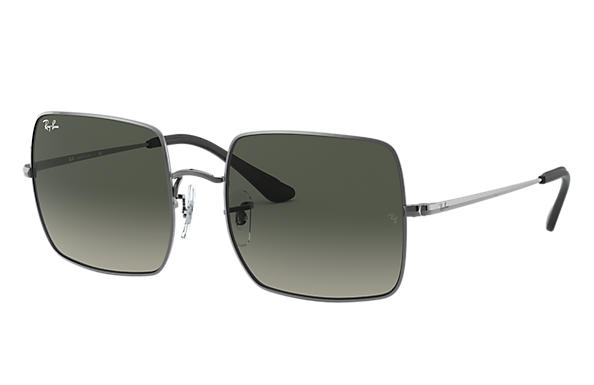 Ray-Ban Sunglasses SQUARE 1971 @COLLECTION Gunmetal with Grey Gradient lens