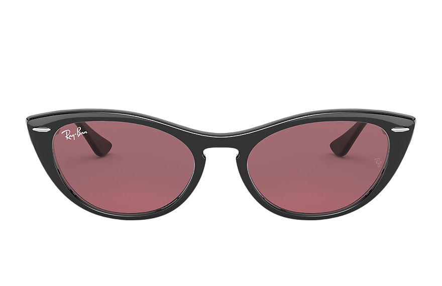 Ray-Ban Sunglasses NINA Black with Violet Photocromic lens