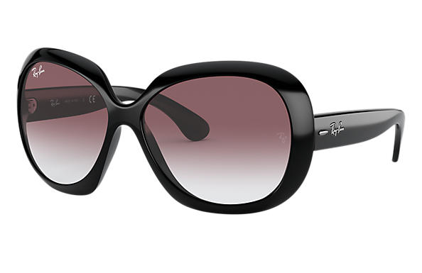 Ray-Ban Sunglasses Jackie Ohh II Limited Edition Black with Pink Gradient lens