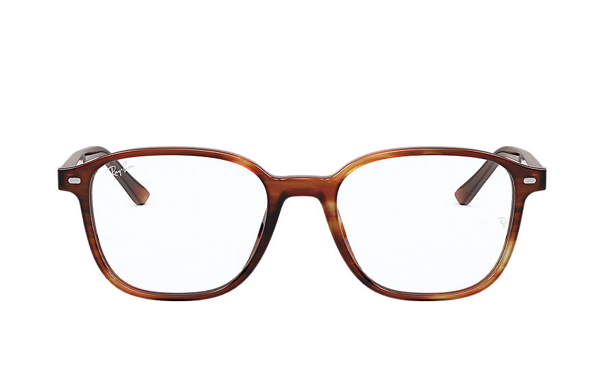 Ray-Ban  eyeglasses RX5393F UNISEX 002 leonard optics 스트라이프드 하바나 8056597328753