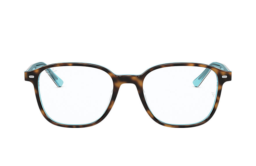 Ray-Ban  eyeglasses RX5393F UNISEX 002 leonard optics 호피색 8056597328760