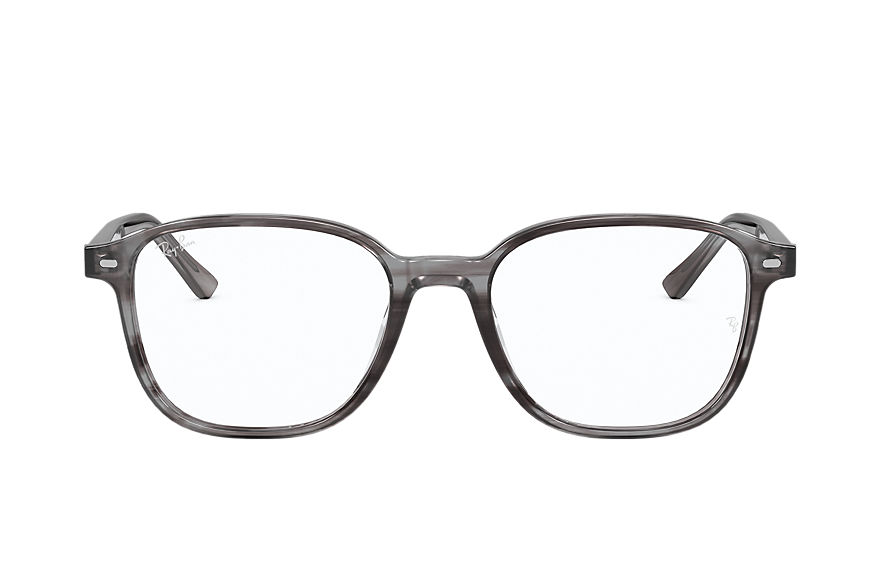 Ray-Ban  eyeglasses RX5393F UNISEX 001 leonard optics 스트라이프드 그레이 8056597328777