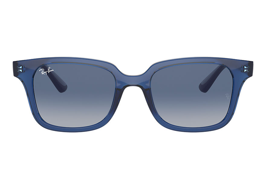Ray-Ban  occhiali da sole RJ9071S UNISEX 005 rb9071s shiny transparent blue 8056597351751