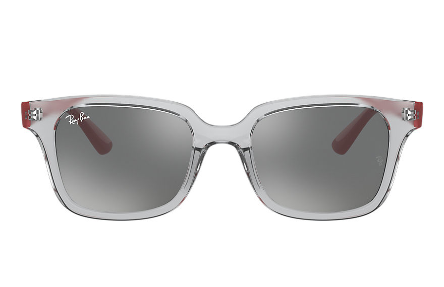 Ray-Ban  occhiali da sole RJ9071S UNISEX 001 rb9071s shiny transparent grey 8056597351768