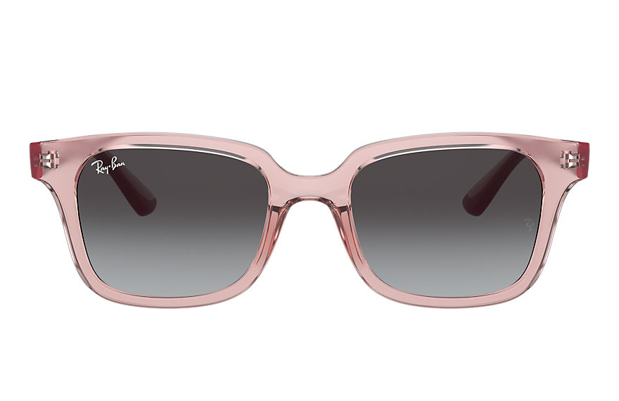 Ray-Ban  occhiali da sole RJ9071S UNISEX 002 rb9071s shiny transparent pink 8056597351775