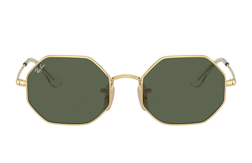 Ray-Ban  occhiali da sole RJ9549S UNISEX 002 octagon junior oro brillante 8056597351799