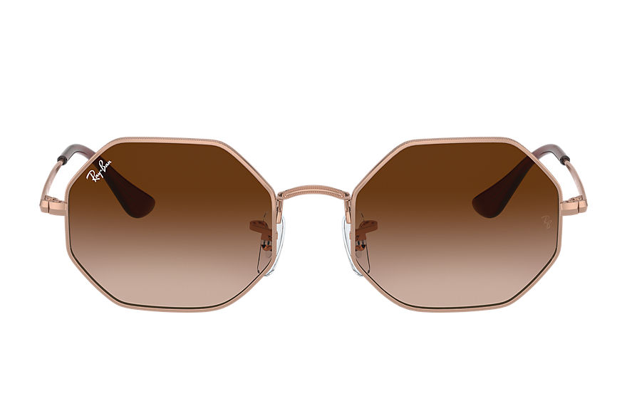 Ray-Ban  occhiali da sole RJ9549S UNISEX 003 octagon junior shiny copper 8056597351805