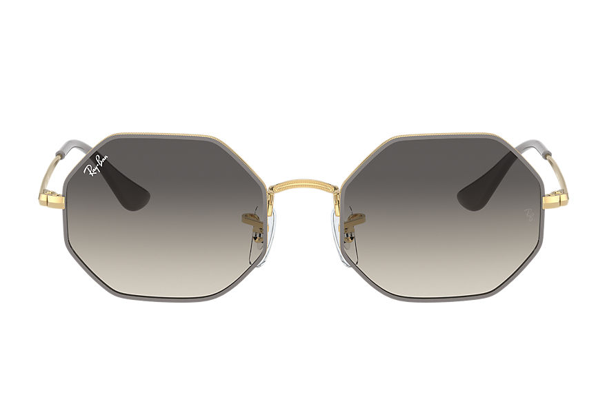 Ray-Ban  occhiali da sole RJ9549S UNISEX 005 octagon junior oro brillante 8056597351829