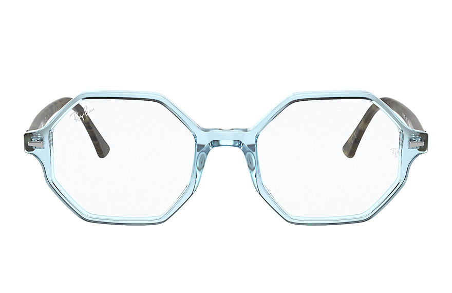 Ray-Ban  eyeglasses RX5472 FEMALE 003 britt shiny light blue 8056597357470
