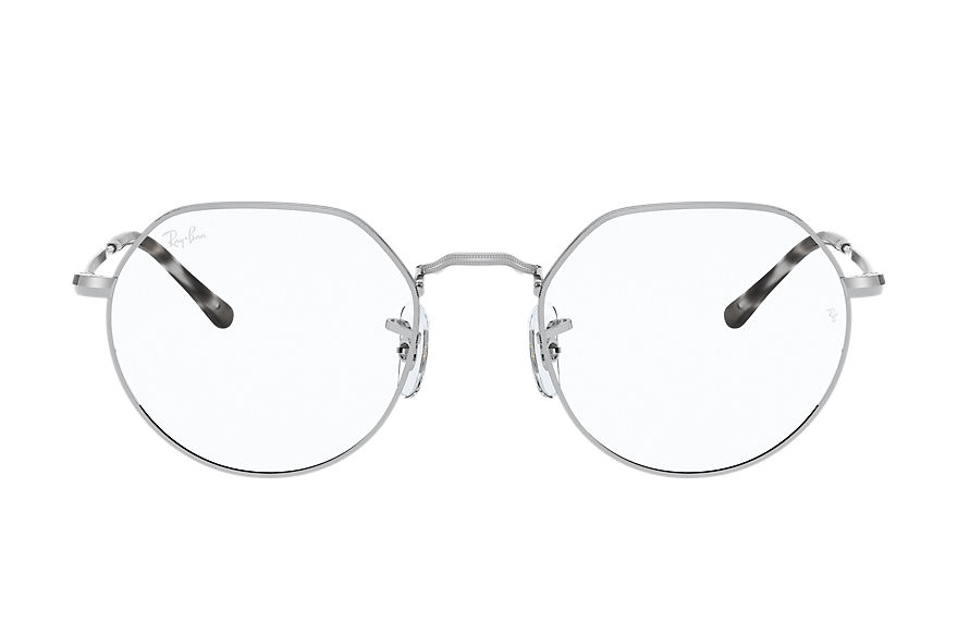 Ray-Ban Eyeglasses JACK OPTICS Shiny Silver
