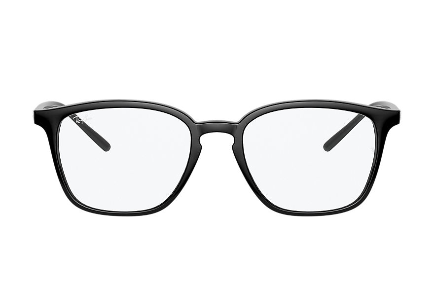 Ray-Ban Eyeglasses RB7185 Shiny Black