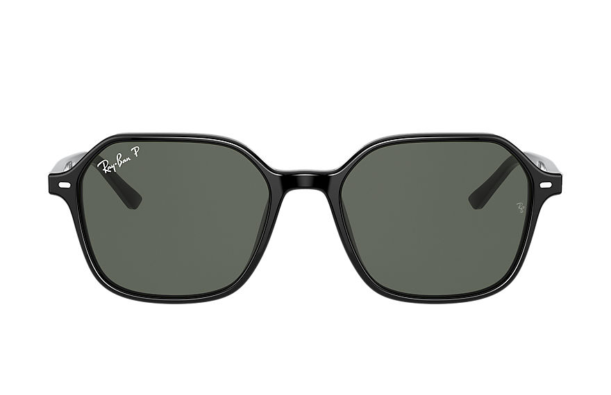 Ray-Ban  sunglasses RB2194 UNISEX 002 john shiny black 8056597362344