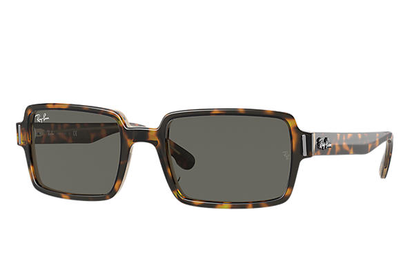 Ray-Ban 0RB2189-BENJI Tortoise,Shiny Transparent Brown SUN