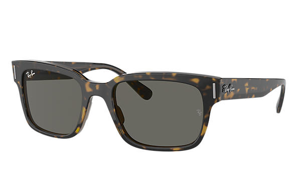 Ray-Ban Sunglasses JEFFREY Tortoise with Dark Grey Classic lens