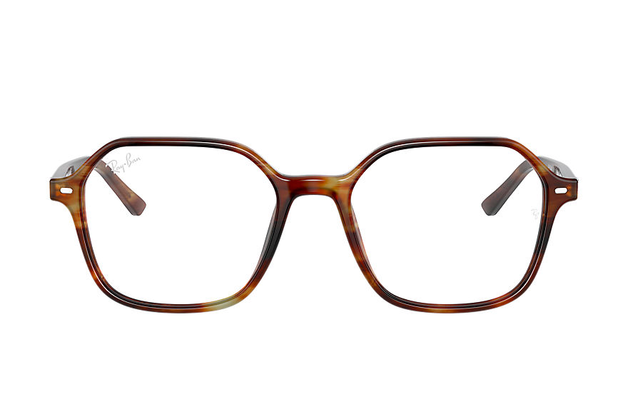 Ray-Ban  eyeglasses RX5394 UNISEX 003 john optics striped tortoise 8056597362726