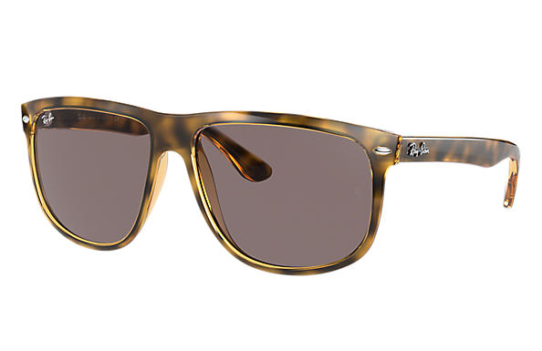 Ray-Ban Sunglasses RB4147 Shiny Black with Dark Blue Classic lens