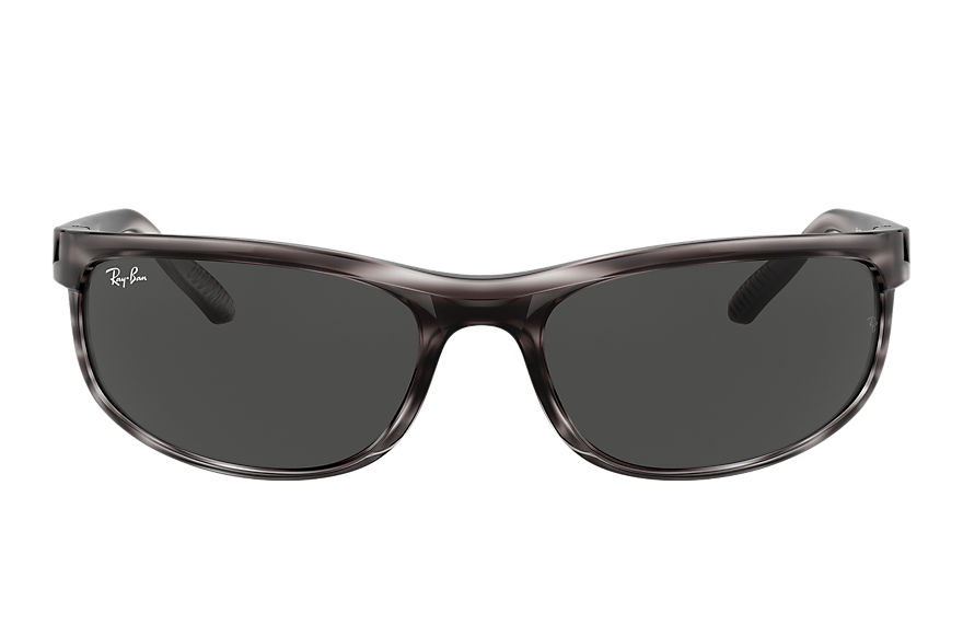 Ray-Ban  sunglasses RB2027 UNISEX 001 predator 2 striped grey 8056597364485
