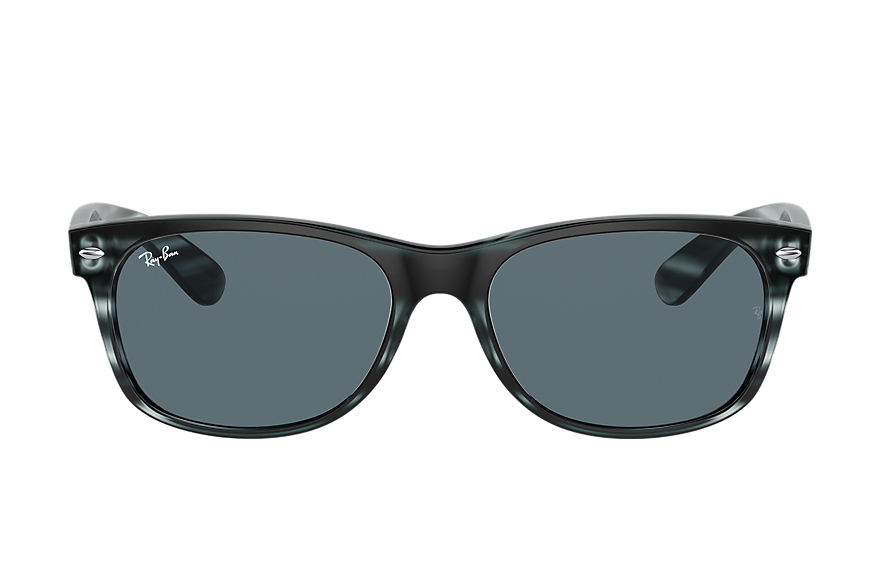 Ray-Ban  sunglasses RB2132 UNISEX 003 new wayfarer color mix striped blue 8056597364959