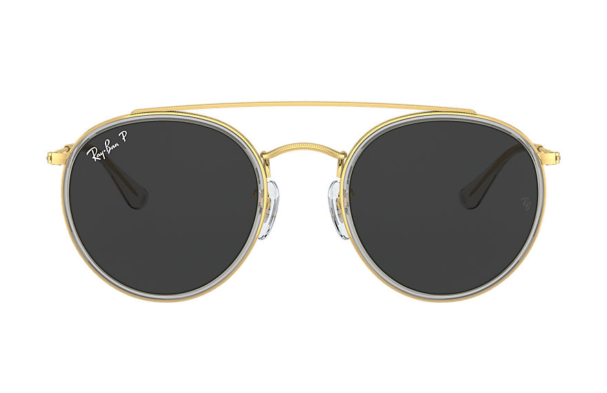 Ray-Ban  sunglasses RB3647N UNISEX 003 round double bridge 亮光金色 8056597365055