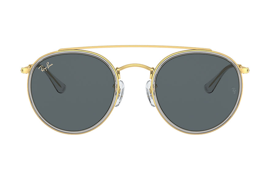 Ray-Ban  lunettes de soleil RB3647N UNISEX 004 round double bridge legend gold or brillant 8056597365062