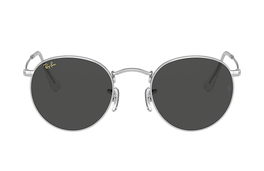 Ray-Ban  sonnenbrillen RB3447 MALE 003 round metal legend gold shiny silver 8056597365154