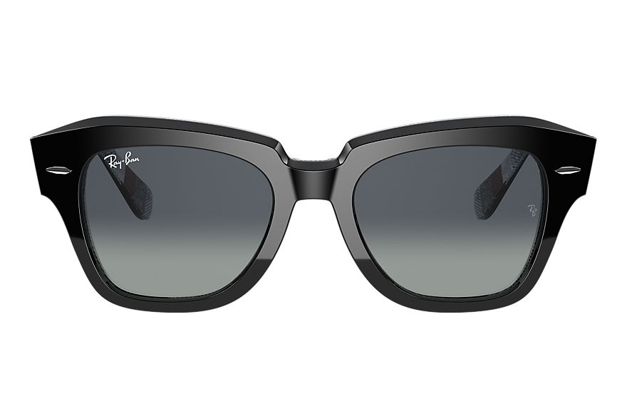 Ray-Ban  sunglasses RB2186 UNISEX 001 state street black 8056597365888