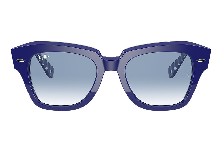 Ray-Ban  sunglasses RB2186 UNISEX 002 state street blue 8056597365895