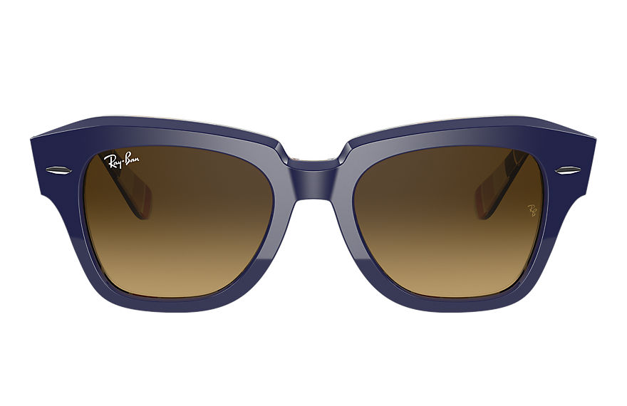 Ray-Ban  sunglasses RB2186 UNISEX 003 state street blue 8056597365901
