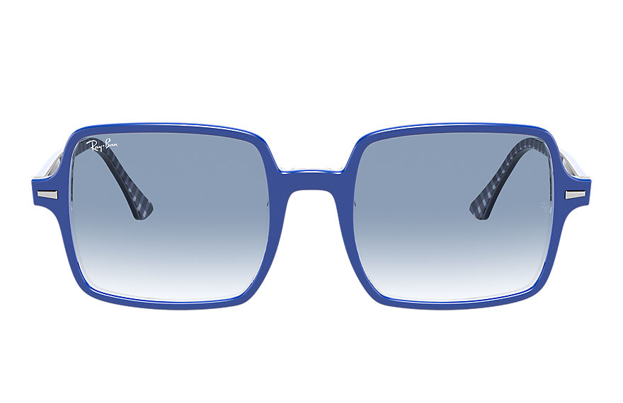 Ray-Ban  sonnenbrillen RB1973 FEMALE 002 square ii blau 8056597366021