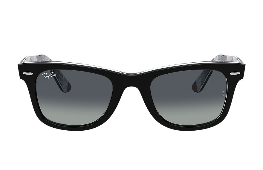 Ray-Ban  sonnenbrillen RB2140 UNISEX 001 original wayfarer color mix schwarz 8056597366052