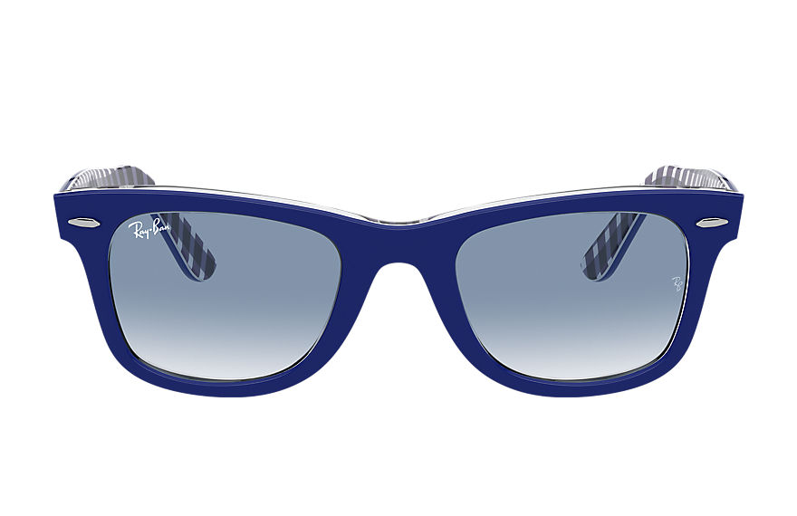 Ray-Ban  sonnenbrillen RB2140 UNISEX 002 original wayfarer color mix blau 8056597366076