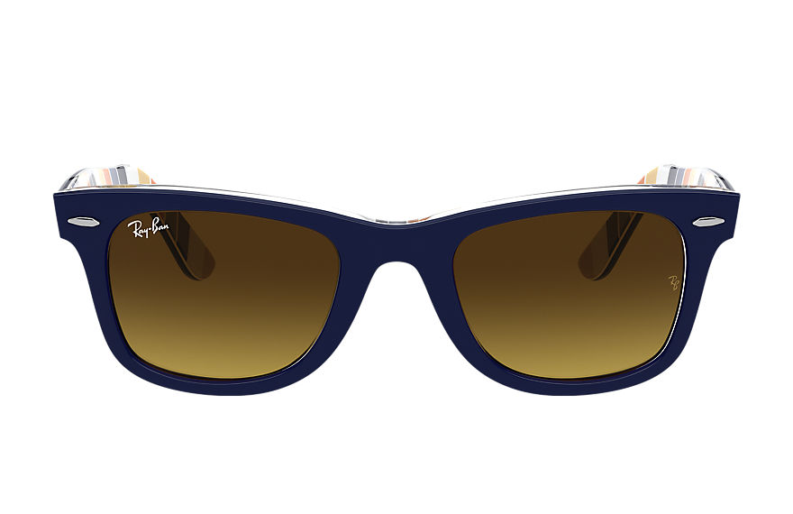 Ray-Ban  sonnenbrillen RB2140 UNISEX 003 original wayfarer color mix blau 8056597366137