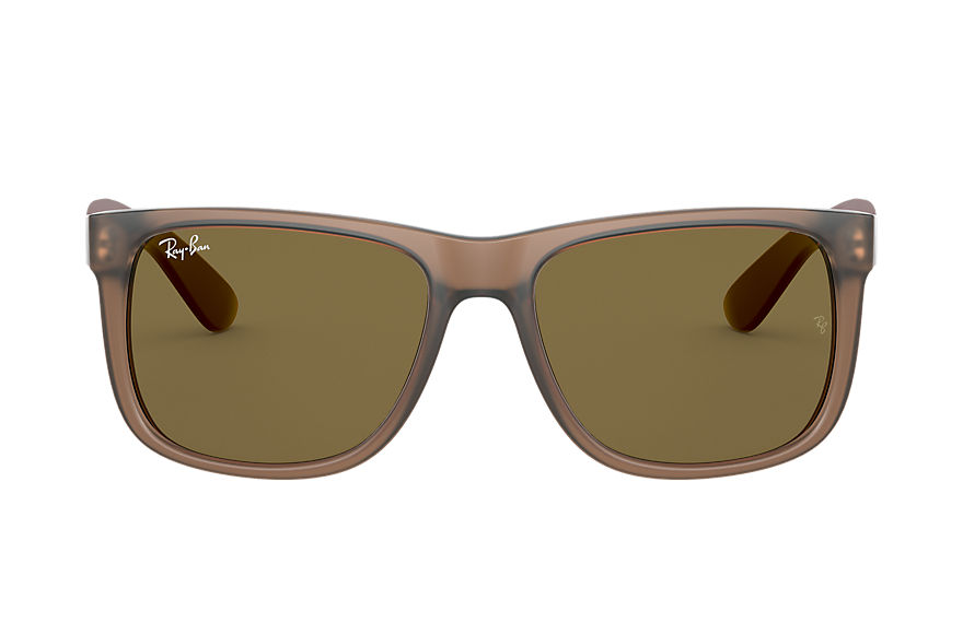 Ray-Ban  sonnenbrillen RB4165 MALE 002 justin color mix braun transparent 8056597366816