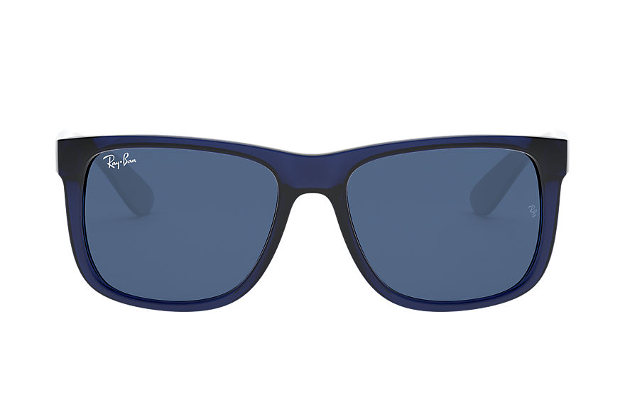 Ray-Ban  sonnenbrillen RB4165 MALE 003 justin color mix blau transparent 8056597366830