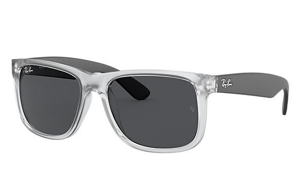 Ray-Ban 0RB4165-JUSTIN COLOR MIX Transparent; Black SUN