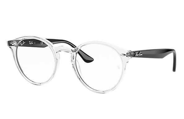 Ray-Ban Eyeglasses RB2180V Shiny Transparent